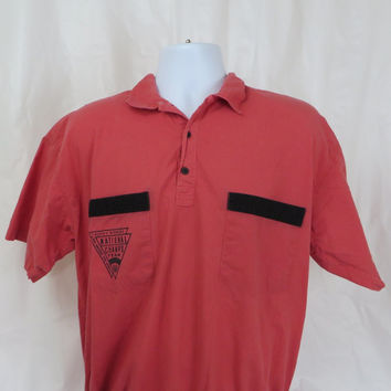 Vintage National Champs Team Banded Polo LARGE