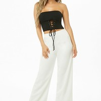 Corset-Inspired Tube Top