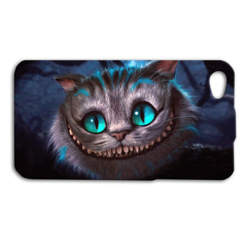 Alice in Wonderland Cheshire Cat Cute Custom Case for iPhone 5/5s and iPhone 4/4s