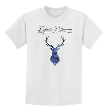Expecto Patronum Space Stag Childrens T-Shirt