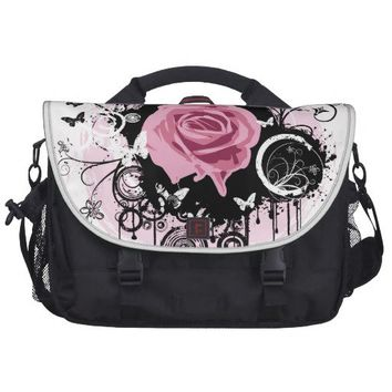 Grunge Rose Laptop Bags from Zazzle.com