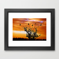 Another morning mood Framed Art Print by Pirmin Nohr