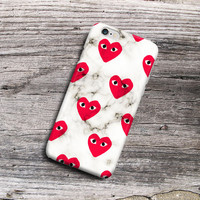 Comme Des Garcons White For iPhone 6 6s 6 Plus 6s Plus SE