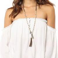 O'Neill 'Justina' Off The Shoulder Peasant Top | Nordstrom