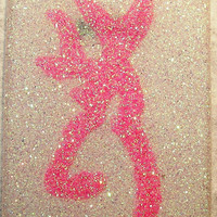 Sparkly Browning iPhone 4/4S OR iPhone 5 Cell Phone Case - iTouch 5 also available