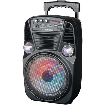 Supersonic(R) IQ-3078DJBT Bluetooth(R) Disco Light DJ Speaker