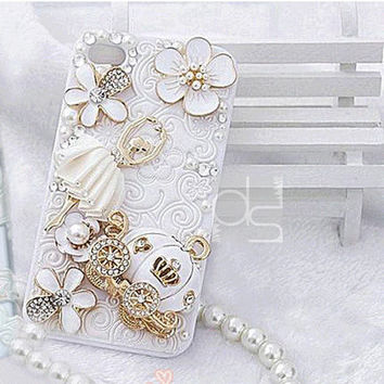 iPhone 4S Case for iPhone 4 Bling Case iPhone 5C Cover iPhone 3 S Skin Case iPhone 3GS Case iPhone 5G Bling Cover iPhone 5S Case Pumbkin Car