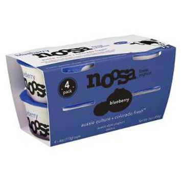 Noosa® Blueberry yogurt - 4oz 4ct