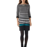 White House | Black Market Striped Knit Chemise