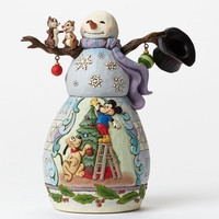 Mischief and Merriment-Snowman and Pluto Christmas-Disney Showcase Collection