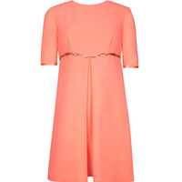 Inverted pleat A line dress - Coral | Dresses | Ted Baker UK