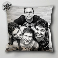 walk the moon 4 pillow case, cushion cover ( 1 or 2 Side Print With Size 16, 18, 20, 26, 30, 36 inch )