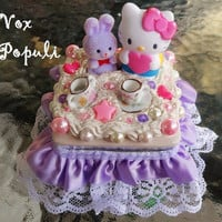Kawaii Hello Kitty Jewelry Box by Voxpopuli77 on Etsy