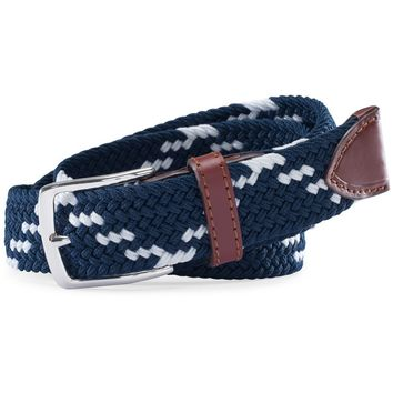 Braided Web Belt in True Navy by Southern Tide