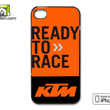 KTM Ready to Race iPhone 4 case by Avallen