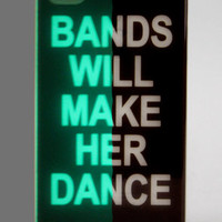 BANDS - GLOW-IN-THE-DARK iPhone 4/4S Case
