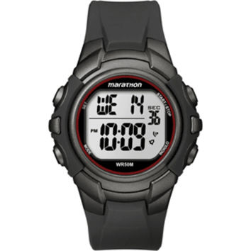 Timex Marathon Digital Full-Size Watch - Black/Gunmetal