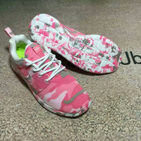 """NIKE"" Trending Fashion Personality Camouflage Casual Sports Shoes"