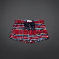 GH Flannel Sleep Shorts