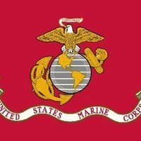 Valley Forge Nylon United States Marine Corp. Flag, measures 3-Foot x 5-Foot