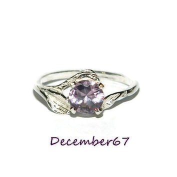 Alexandrite Ring, Set In Sterling Silver, 1.30 Carat Stone