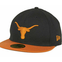 Texas Longhorns NCAA 2 Tone 59FIFTY Cap