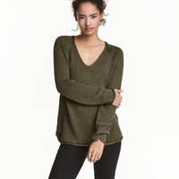 Knit Sweater - from H&M