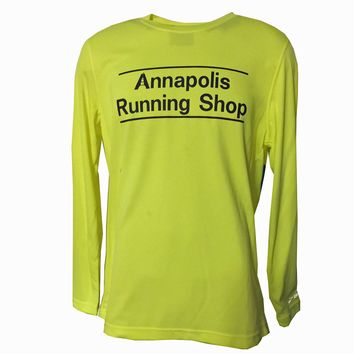 Men's ARS Technical L/S T-Shirt - Hi Vis Yellow