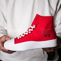 ADIDAS Y-3 Casual High-Top Old Skool Flats Shoes