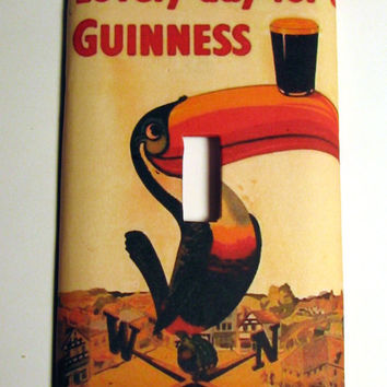 Light Switch Cover - Light Switch Guinness Beer Vintage Ad