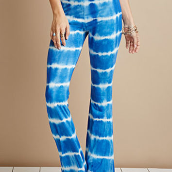 Raga Tie-Dye Flared Pants