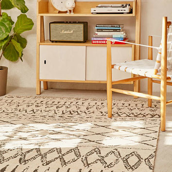 Casbah Chenille Printed Rug - Urban Outfitters
