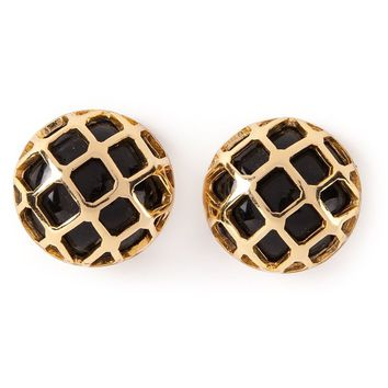 Lanvin Vintage 70's French Chic earrings
