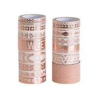 Rose Gold Large Washi Tube By Recollections™