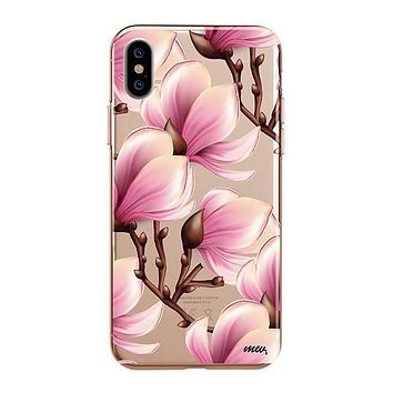 Magnolia - iPhone Clear Case