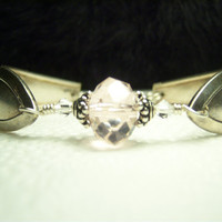 Vintage Spoon Bracelet Silver Spoon Jewelry with by KarmaBeads