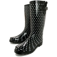 NEW LADIES FESTIVAL WELLIES WELLINGTONS BOOTS, SIZE US 5-10