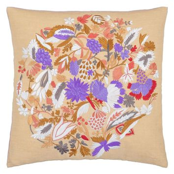 Designers Guild Giradon Coral Decorative Pillow
