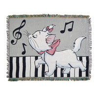 Disney The Aristocats Marie Woven Tapestry Throw Blanket