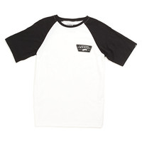Boys Full Patch SS Raglan T-Shirt | Shop Boys Shirts at Vans