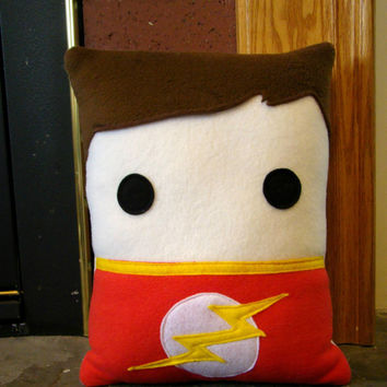 Sheldon Cooper, Big Bang Theory inspired, throw pillow, pillow, plush