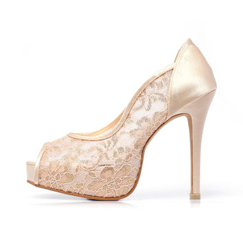 Best Satin Bridal Shoes Products on Wanelo
