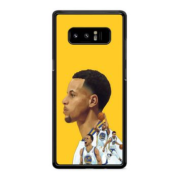 Stephen Curry 8 Samsung Galaxy Note 8 Case