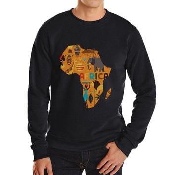 South Africa map print hoodies super cool brand new hoodie for men casual streetwear hip hop outwear cheap harajuku jecket 1
