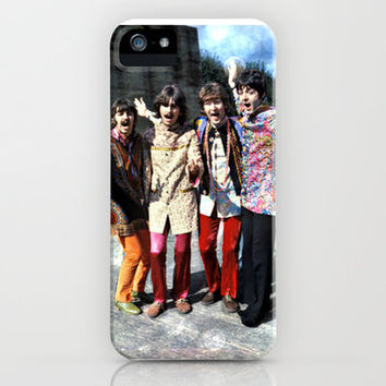 The Beatles iPhone & iPod Case by Anz Petros