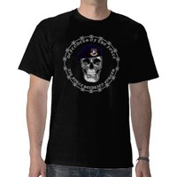 Air Force Security Skull Tee Shirts from Zazzle.com