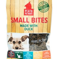 Plato Pet Small Bites Duck Dog Treats 10.5 oz