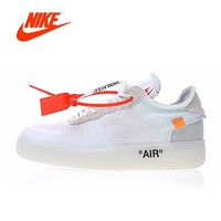 Zyaoyao Original New Arrival Authentic Nike Air Force 1 Low x Off Wh