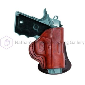 Tagua HK 45 Quick Draw Paddle Holster Brown LH PD2-503