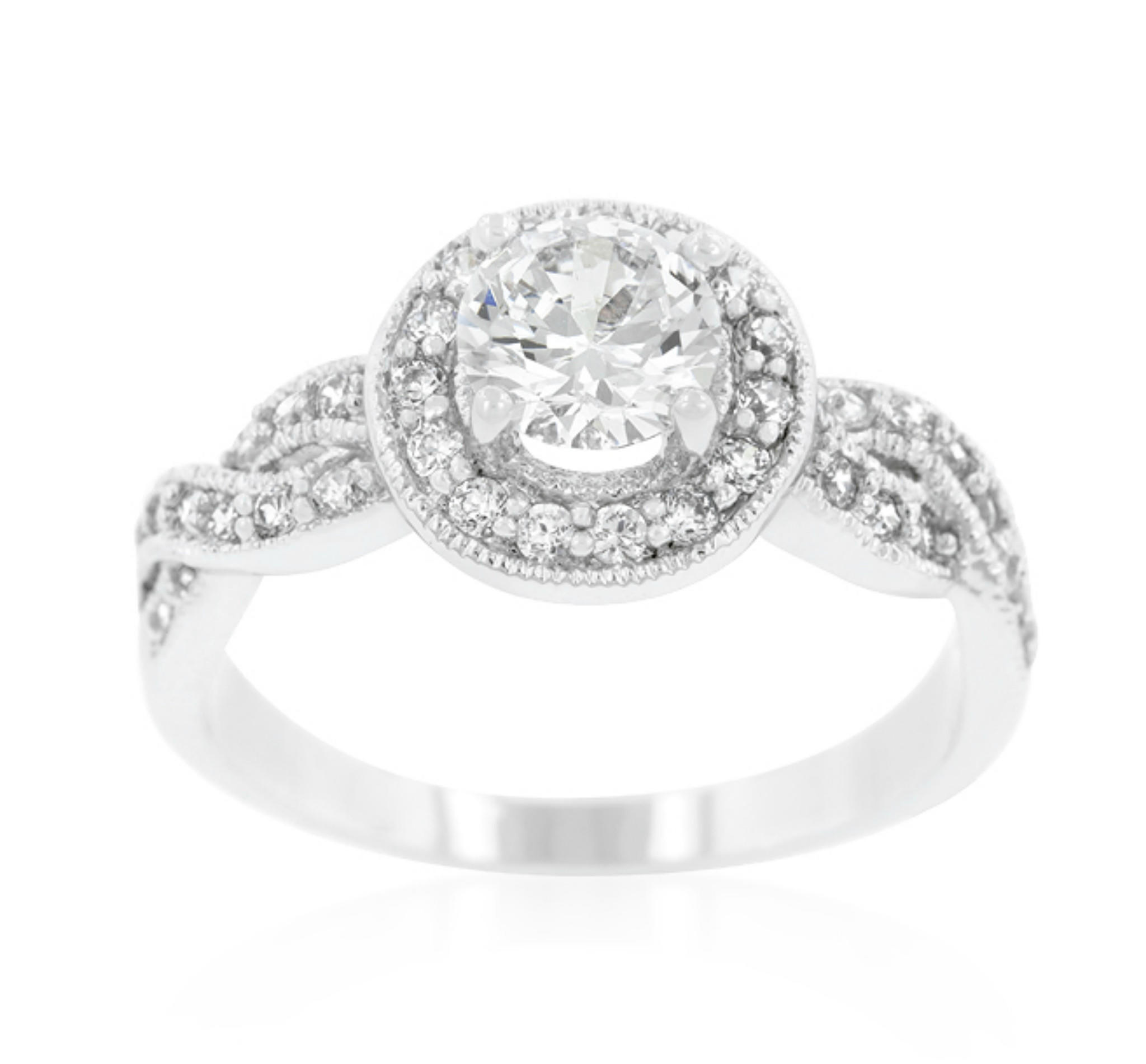 grace rings full wedding for s anniversary luxury engagement of her tiffany year promise size